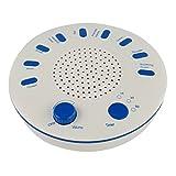 Sunlera White Noise Maschine 9 Natürliche HD Sound Machine Ruhe Schlaftherapie Relaxing Ton Beruhigungssauger Gerät mit