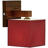 Lampada da parete–wero Design Vigo di 030a–17varianti, lampada da parete, lampada, lampada, in legno massiccio, in legno di quercia, Legno di Quercia rosso vivo
