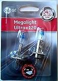 GE Megalight Ultra Car Headlight Bulbs H...