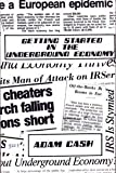 Getting Started in the Underground Economy by Adam Cash (1987-12-02)