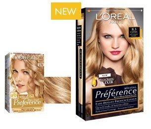 loral rcital prfrence coloration pour cheveux 83 blond dor doux - Coloration Blond Dor