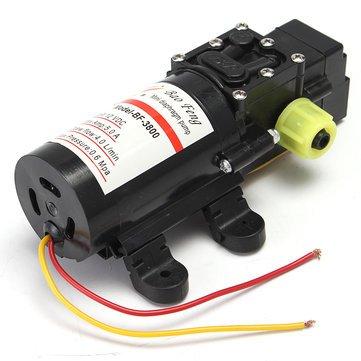 Atoz prime 12V Water Pressure Pump Self-Priming Diaphragm Caravan/RV/Boat/Marine Boat