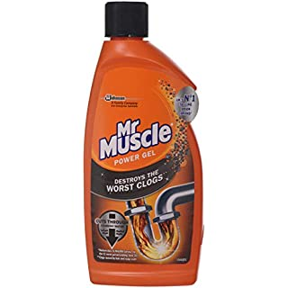 Mr Muscle Sink and Plug Unblocker 500 ml (Pack of 2)