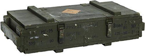Munititionskiste MT25 Transportkiste Aufbewahrungskiste Maße ca 75x50x40cm Gewicht ca 20kg Militärkiste Munitionsbox Holzkiste Holzbox Weinkiste Apfelkiste Shabby Vintage