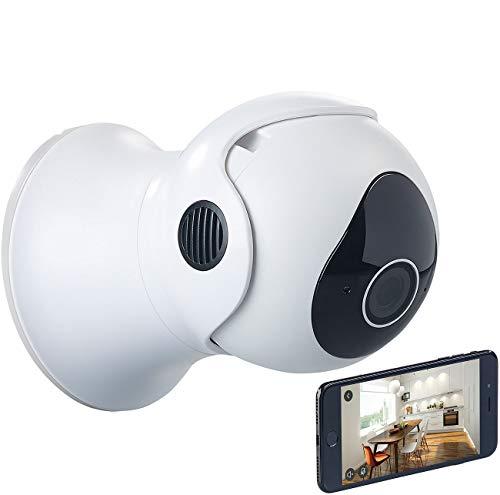 7links Pan Tilt Kamera: Pan-Tilt-IP-Überwachungskamera mit HD, WLAN, App und Nachtsicht, IP65 (Netzwerkkamera)