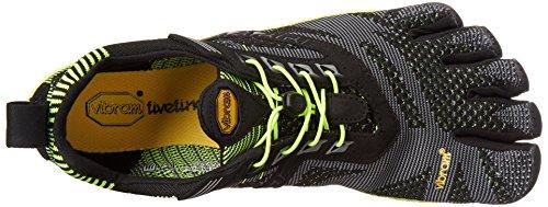 Vibram Fivefingers - Kmd Evo, Scarpe fitness Uomo Multicolore (Black/Yellow)
