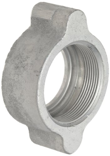 Boss Ground Joint (Dixon Boss B17 Plated Iron Hose Fitting, Wing Nut for 1-1/4 and 1-1/2 Boss Washer Seal and GJ Boss Ground Joint Seal by Dixon Valve & Coupling)