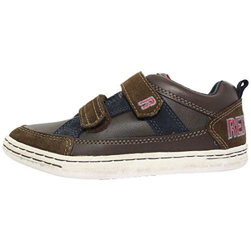 REDSKINS Baskets Carmer Chaussures Enfant Garçon Marron