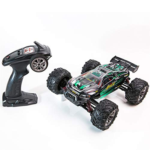 tes Auto RC Off-Road Buggy Auto 1:16 High Speed Remote Control Rock Crawler Racing Car Off Road Truck 2,4GHz Funkfernsteuerung Elektro Geländewagen für Outdoor (Green) ()