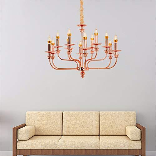 Leohome Vintage pendentif bougie moderne LED E14 Europe industrielle simple suspension pour salon salon restaurant loft loft