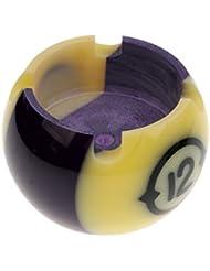 MagiDeal Cendrier En Résine En Forme De Balle De Billard Couleur Numéro Aléatoire