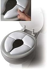 SYGA Set of 1 Traveller Folding Padded Toilet Seat Portable Kids Toilet Seat