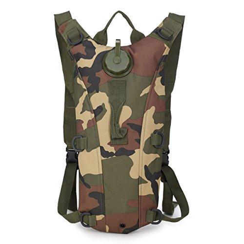Zaino Water Bag HAOYUXIANG Sport Esterni Di Guida Pieghevole 3L,C2 C7