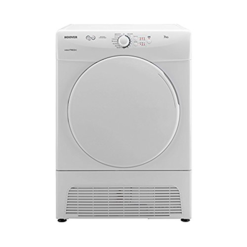 Hoover VTC570B VISION TECH 8kg Load Condenser Tumble Dryer 4 Programmes White