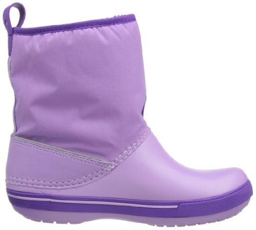 Crocs Crocband II,5 12905 Unisex - Kinder Halbschaft Gummistiefel Violett (Iris/Neon Purple 536)