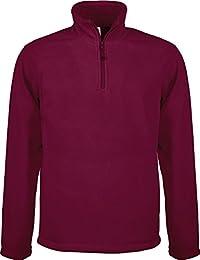 Fleece Sweatshirt Enzo mit 1/4 Reißverschluss