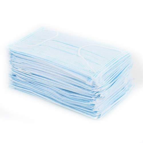 Yinlibo111 Einwegmasken, medizinisch, für Zahnärzte, geschichtete Atemschutzmasken, 50 Stück
