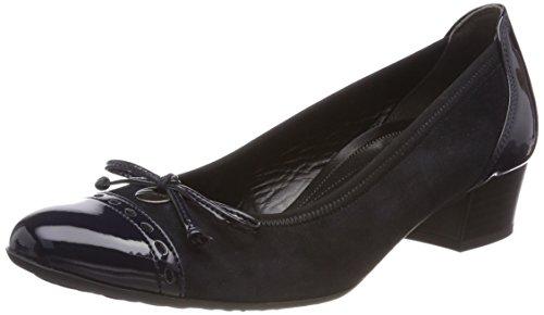Gabor Shoes Comfort Fashion, Scarpe con Tacco Donna, Blu (Pazifik), 39 EU