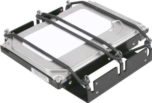 Sharkoon Hdd-Vibe-Fixer 5.25 Festplatten-Einbaurahmen zur Entkopplung von Festplatten im PC-Gehäuse