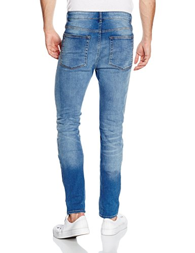 New Look Arnold Skinny, Jeans Uomo Blu (Bright Blue)
