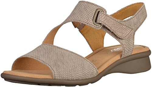 Gabor Women's Mostic Flat Sandal Taupe