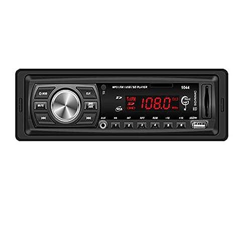 Bluestercool Auto In-Dash Audio Bluetooth Stereo Head Unit MP3 / USB / SD / MMC / FM-Eingang AUX