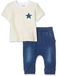 Kanz Baby-Jungen Bekleidungsset T-Shirt 1/4 Arm + Hose