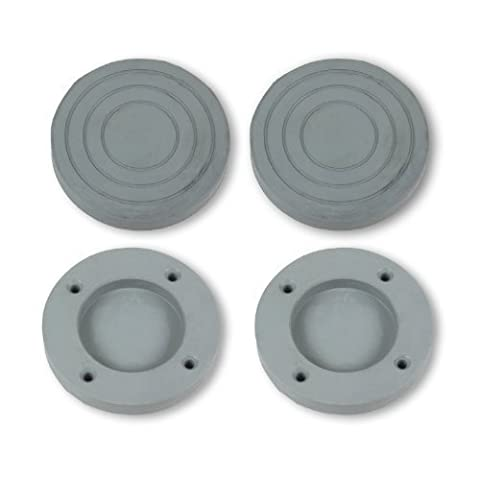 Patins Anti Vibrations - LG - Pied Patin Caoutchouc Antidérapant Anti-Vibration