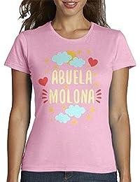 latostadora - Camiseta Abuela Molona para Mujer
