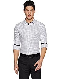 Symbol Amazon Brand Men's Slim Fit Formal Shirt