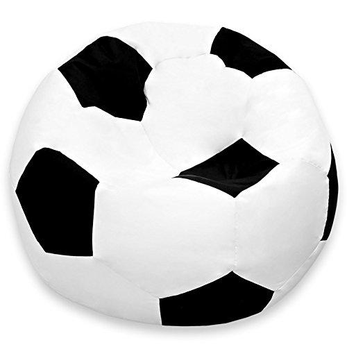 #DoYourOutdoor® Sitzsack ALS Fußball in Zwei Größen (90cm / 110cm Durchmesser) mit EPS-Perlen befüllt | Groß