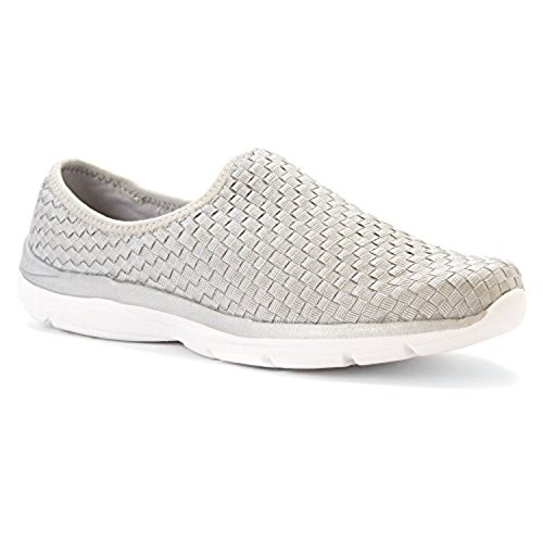 easy-spirit-womens-quinby-silver-fabric-sneaker-6-w-d