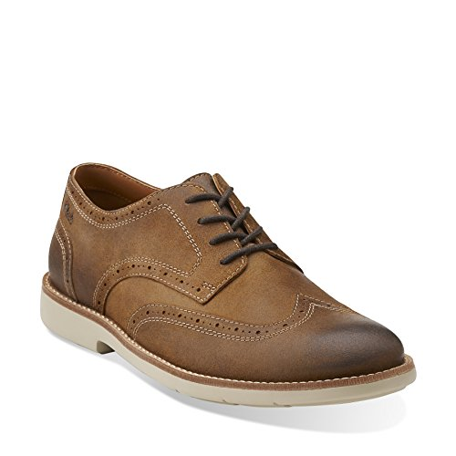 Clarks Raspin Brogue Oxford Tobacco