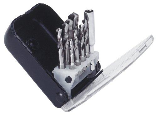 """Exact 50907 Clip Set Spiralbohrerbitsatz Ø 2,5-10,2mm für M3-M12 Gewinde + Bithalter 1/4\"""" Antrieb"""