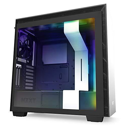 NZXT H710i - Caja PC Gaming Semitorre ATX - Panel frontal E/S Puerto USB de Tipo...