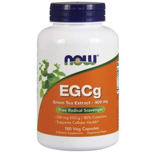Now Foods EGCg Grüntee-Extrakt 400mg Zellgesundheit 180 Kapseln