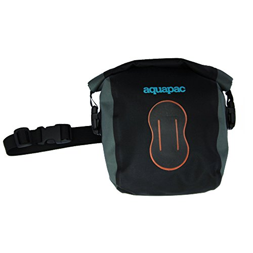 AQUAPAC Wasserdicht Kameratasche, schwarz-grau, 115 x 165 x 75 mm, 021, -