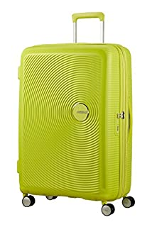 American Tourister Soundbox Spinner Espandibile Bagaglio A Mano, 55 cm, 35,5/41 L, 2,6 Kg, Verde (Tropical Lime) (B06ZZ2JPPR) | Amazon price tracker / tracking, Amazon price history charts, Amazon price watches, Amazon price drop alerts