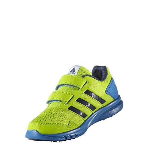 adidas Runfastic Cf K - sesosl/minblu/shoblu semi solar slime/mineral blue s16/shock blue s16