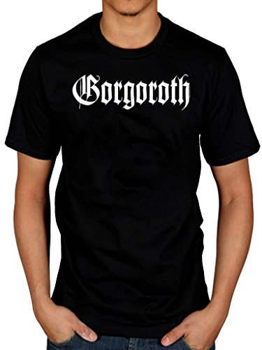 Official Gorgoroth True Black Metal T-Shirt Licensed Norwegian Logo (Gorgoroth-shirt)