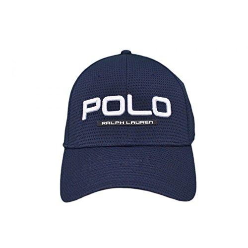 Polo Ralph Lauren Herren Baseball Perform Cap-Hat (Schwarz)