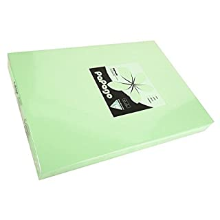 80 gsm A4 PAPAGO tinted paper x 500 sheets - APPLE GREEN