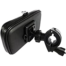 Soporte de Teléfono Móvil para Bicicleta Motocicleta Manillar Sostenedor de Bici Varios Tamaños Universal para iPhone Samsung HTC SONY LG Huawei etc - L