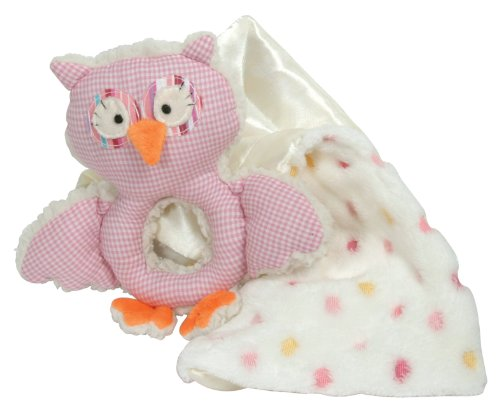 stephan-baby-shabby-owl-shaggy-sherpa-rattle-and-multi-dot-fleece-blankie-gift-set-pink-white