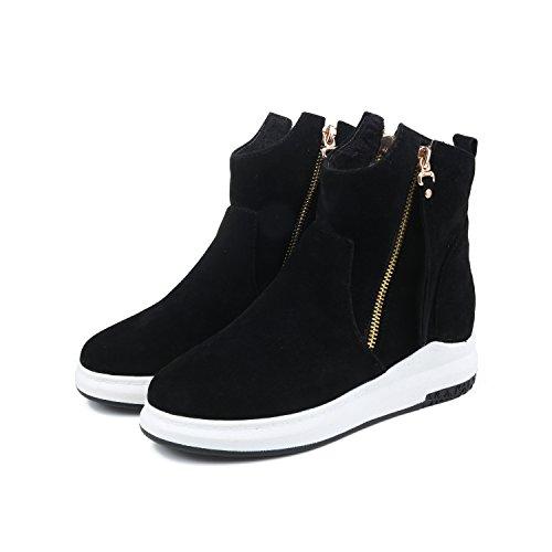 Balamasaabl09601 - Sandales Compensées Pour Femmes, Noir