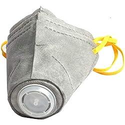 QNMM Fournitures de Jardin Masque Anti-Brouillard pour Animaux de Compagnie Bandoulière réglable en Acier Anneau intérieur pour Petit Chien Moyen,S