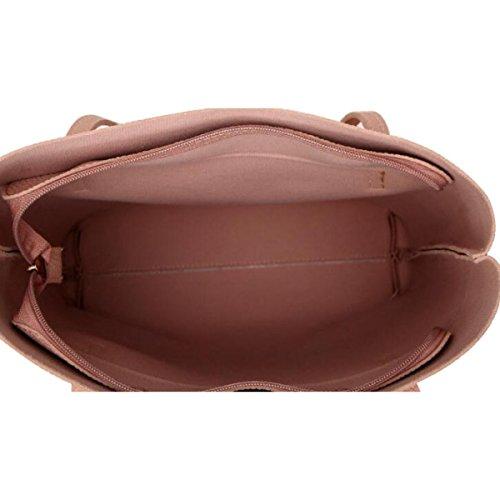 Borse Di Tote Donna Borse Casual Borse Handbag Grandi Capacità Borse Big Women,Pink Blue