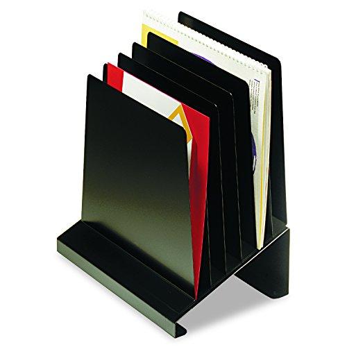 Steelmaster wahrscheinlich 6er schräg stahl Vertikale Veranstalter, 27,9x 29,2x 18,4cm, schwarz (264r806bk)