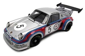 Autoart - 87474 - Véhicule Miniature - Porsche 911 RSR Turbo / Martini / B. Hatch 74 - Echelle 1/18