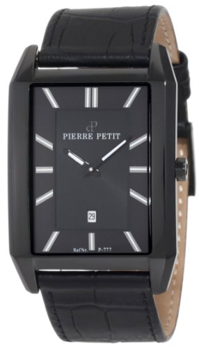 Pierre Petit Men's Quartz Watch Paris P-777B with Leather Strap